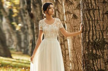 Vestidos Alma Novia 2021, ¿buscas un look nupcial bohemio y romántico?