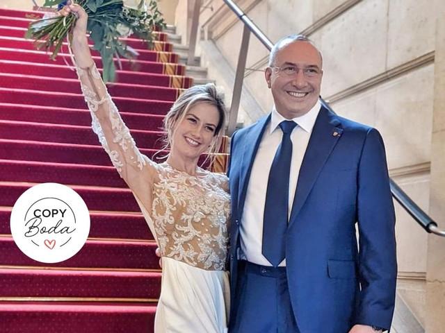 Boda de Altair Jarabo y Fréderic García: una romántica celebración de estilo francés que los inspirará