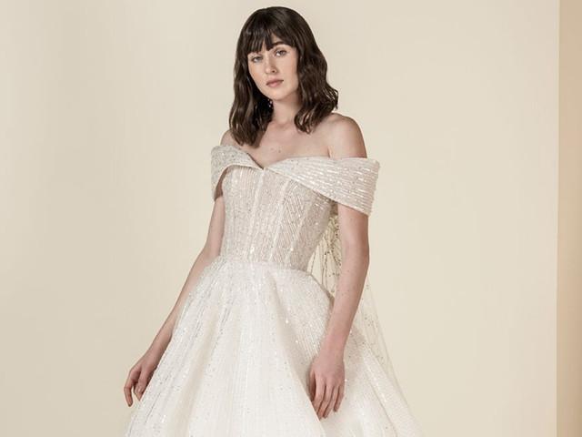 Vestidos de novia Saiid Kobeisy 2019: romanticismo renovado