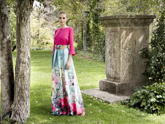 Energía y color en los vestidos de fiesta Evassé by Costura Europea 2019