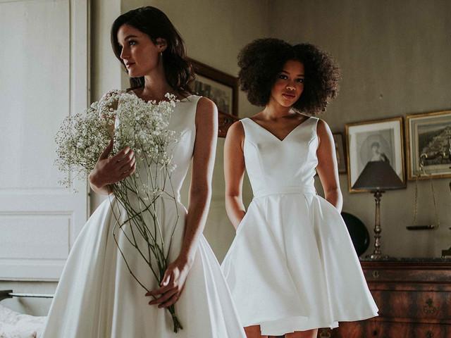 Vestidos de novia Pour Un Oui by Cymbeline 2021: dale el sí a lo clásico
