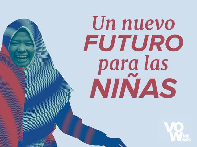 VOW y Bodas.com.mx unidos para combatir el matrimonio infantil