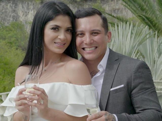 Edwin Luna y Kim Flores ya son marido y mujer... antes de casarse por televisión