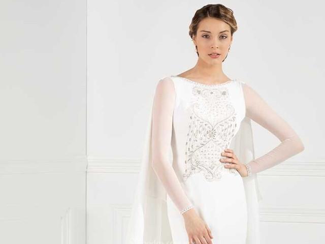 Vestidos de novia Franc Sarabia 2020: elegancia en estado puro