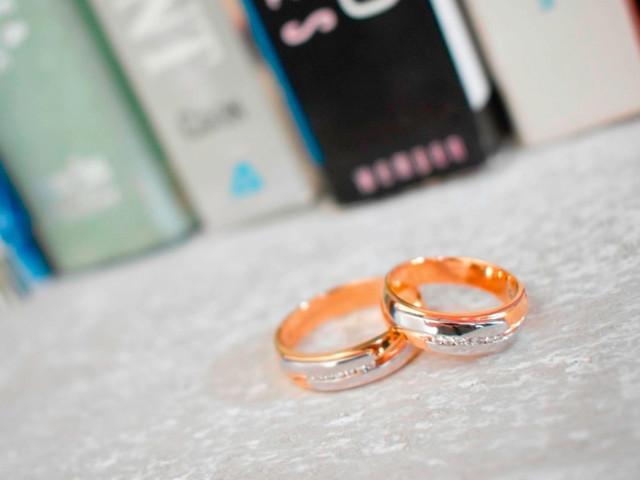 50 alianzas de oro de varios colores, ¡mezclas explosivamente románticas!
