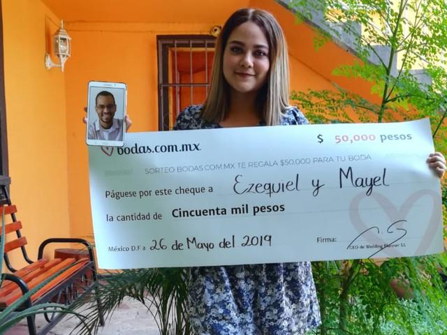 Ezequiel y Mayel, ganadores del sorteo: un amor que traspasa fronteras