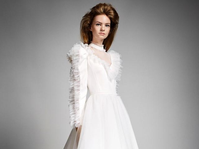 Vestidos de novia Viktor & Rolf 2019, un romance futurista