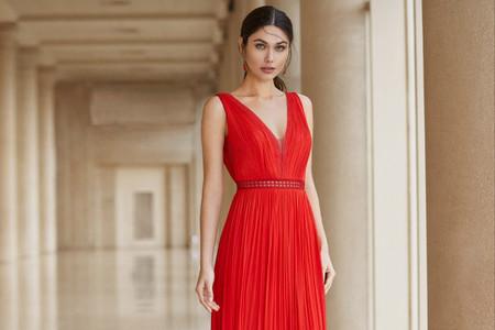 70 vestidos rojos de noche que te hipnotizarán