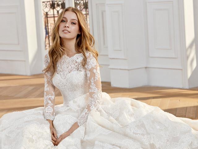 Vestidos de novia St. Patrick 2020, delicados detalles que enamoran