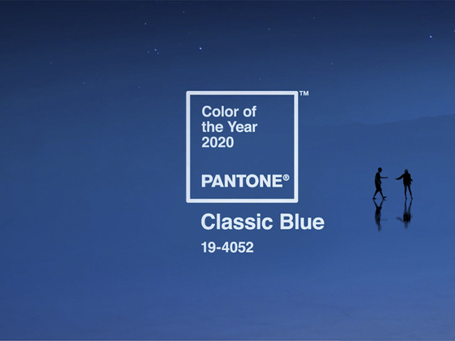 Pantone Color Institute anuncia el color del año 2020: 'Classic Blue'