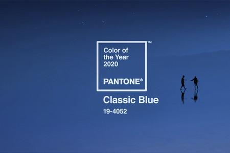 Pantone Color Institute anuncia el color del año 2020: 'Classic Blue'