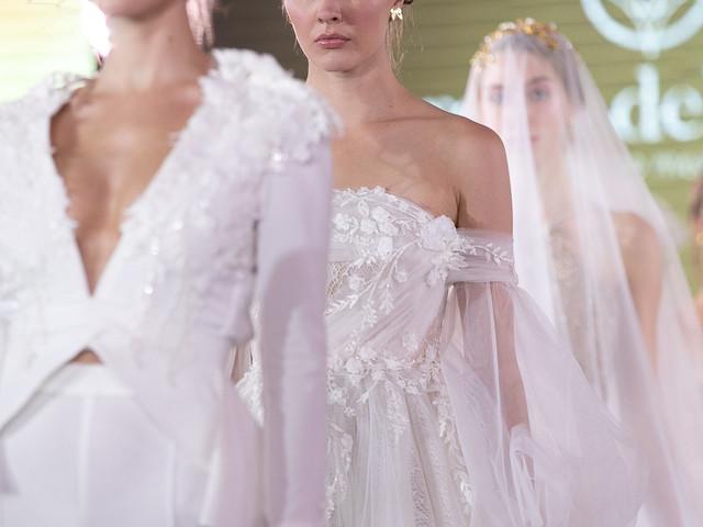 Vestidos de novia Iann Dey 2019-2020, creativos y majestuosos