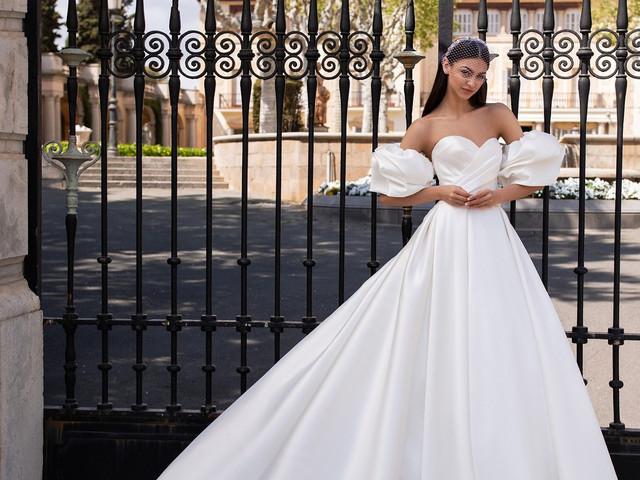 50 vestidos de novia vintage: un look retro muy romántico