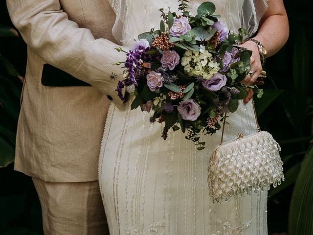 30 increíbles bolsas de novia, ¿cuál lucirás en tu boda?