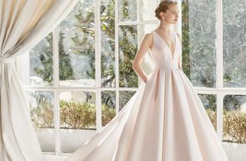 90 vestidos de novia corte princesa sencillamente hermosos