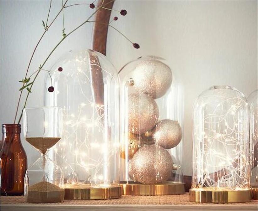 campana decorativa para boda Ikea