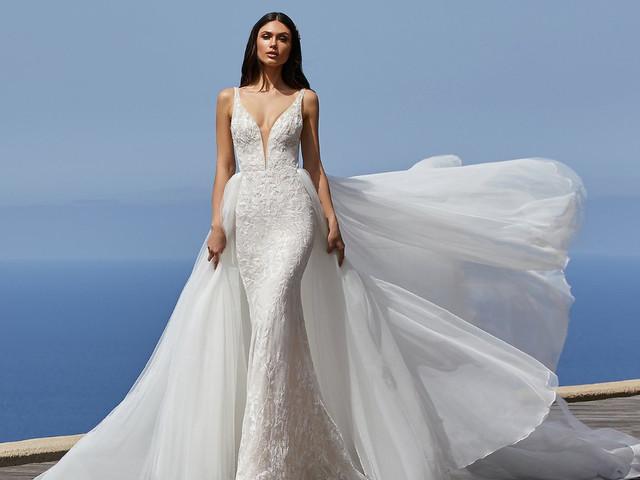 12 tendencias en vestidos de novia 2021, ¡así será la moda nupcial!