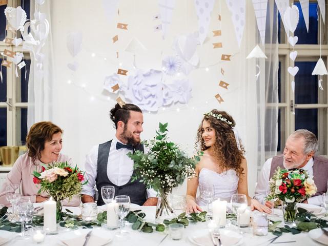 Protocolo de boda para padres divorciados