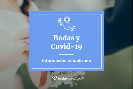 Información actualizada de bodas y COVID-19: ¿conocen la situación en su estado?