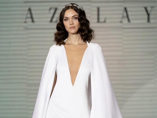 Vestidos de novia Azulay 2019, glamorosa oda al siglo XX