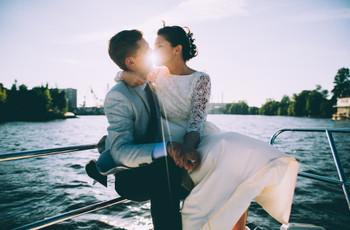 ¿Una boda en un barco? Esta es la bitácora que necesitan