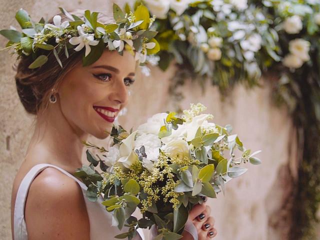 Coronas de flores para novia: las más bonitas están aquí