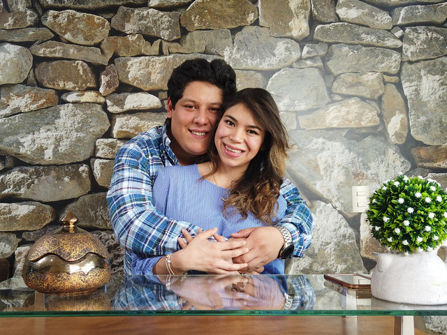 """Miguel y Nadia, a unos meses de decir """"sí, quiero"""", ¡ganaron nuestro sorteo!"""