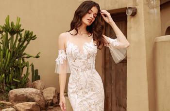 ¡Conoce cuáles fueron las tendencias de vestidos de novia en The Knot Couture Virtual Show!