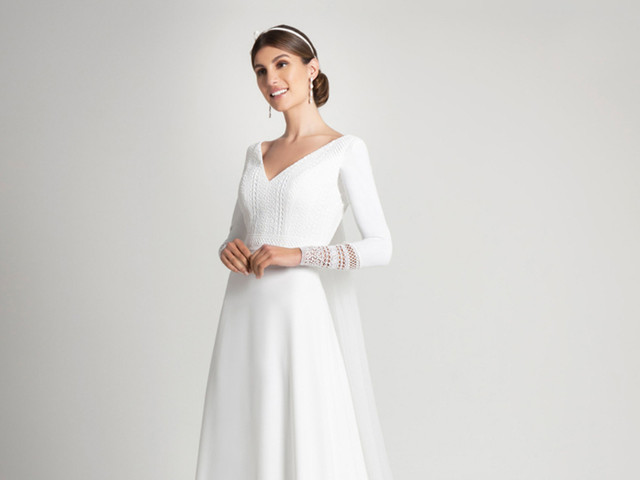Vestidos de novia Franc Sarabia 2021: diseños elegantes, cómodos y sencillos