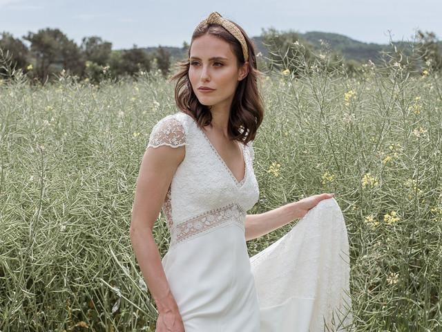 Vestidos de Novia d'Art 2021, diseños ideales para bodas bohemias y vintage