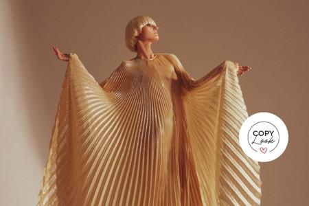 Recrea el estilo de los vestidos de 'Halston' en tu look de invitada a boda