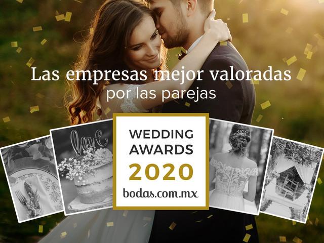 Descubran a los ganadores de los Wedding Awards 2020 de Bodas.com.mx