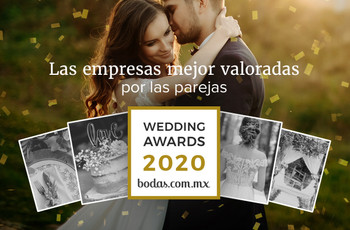 Descubran a los ganadores de los Wedding Awards 2020 de Bodas.com.mx