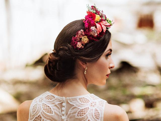 30 peinados recogidos que seguro inspirarán tu look de novia