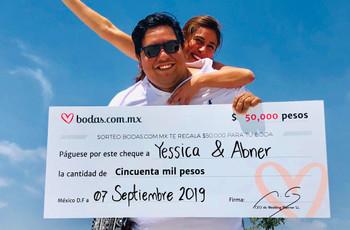 ¿Dónde viajarán Yessica y Abner con los 50 mil pesos del sorteo?