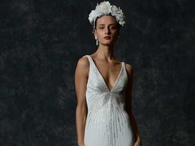 Vestidos de novia Naeem Khan 2020: encajes y adornos que roban miradas