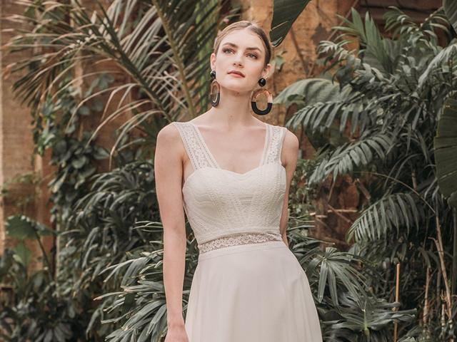 Vestidos de novia Fara Sposa 2021: bohemios y seductores