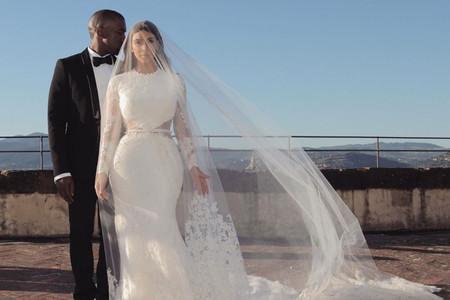 15 vestidos de novia para fans de Kim Kardashian, ¡que está de aniversario!