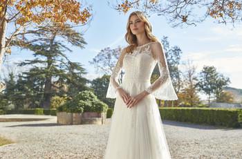 90 increíbles vestidos de novia con manga