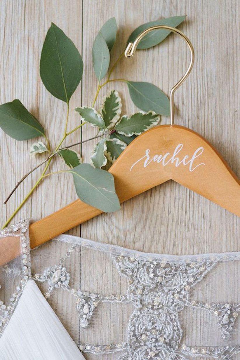 gancho personalizado para la boda