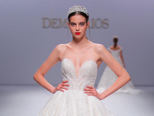 Vestidos de novia Demetrios 2020: deslumbrantes princesas y reinas