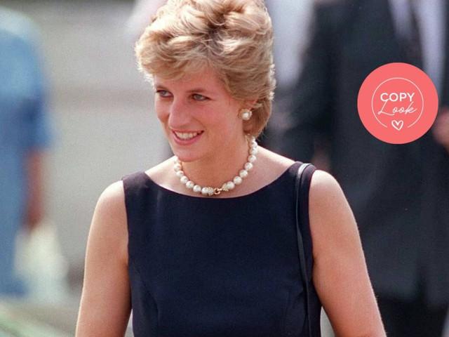 Look de princesa inspirado en Lady Di: ¡ideal para invitadas elegantes!