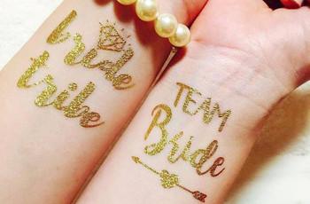 Tatuajes temporales para bodas, ¡lo que no se borra es el recuerdo!
