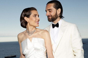 10 vestidos de novia similares al de Carlota Casiraghi, ¡Mónaco está de fiesta!