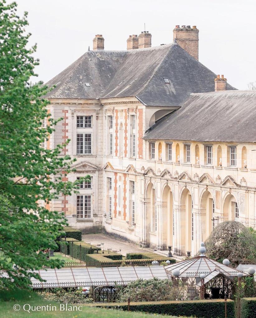 Castillo para celebrar boda aire libre elegante