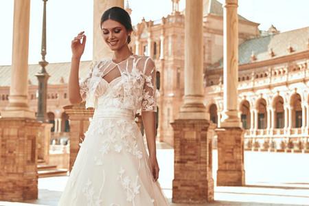 Así es la nueva colección de vestidos de novia Marchesa por Pronovias 2021