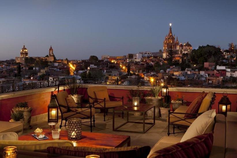 terrazas de hoteles para bodas en México