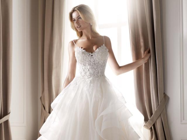 Vestidos de novia Nicole 2020: diseños italianos de ensueño