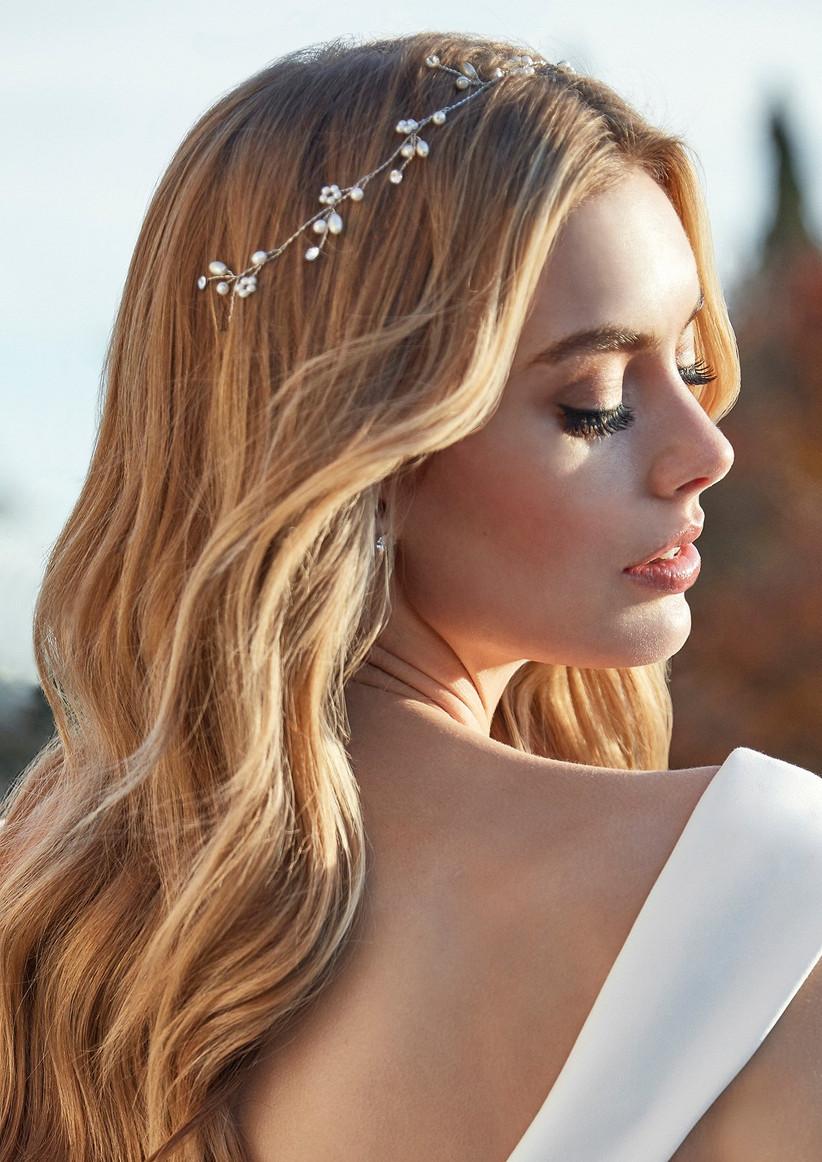 Sensacional peinados para boda Galería De Consejos De Color De Pelo - Tendencias en peinados de novia 2021, ¡looks desenfadados ...