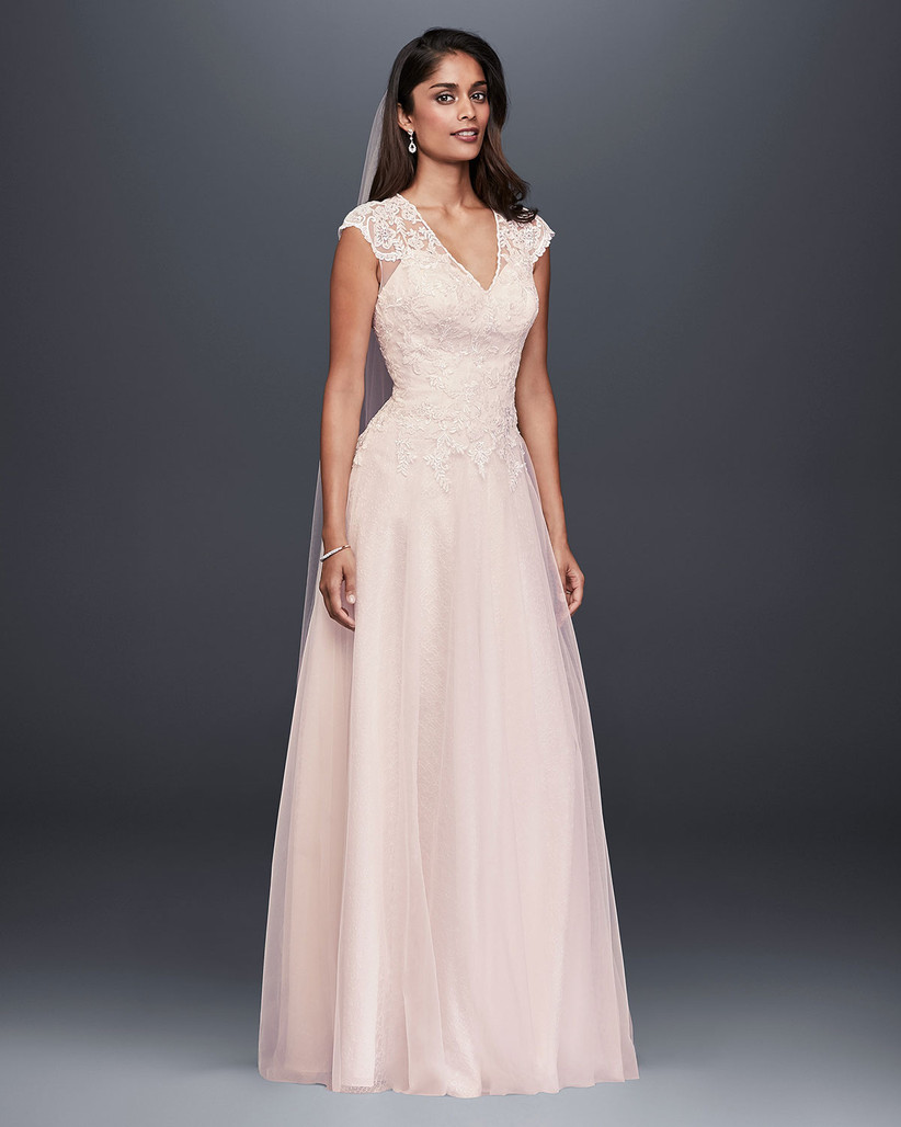 820b6069c Vestidos de novia David s Bridal 2019  colecciones para todos los ...